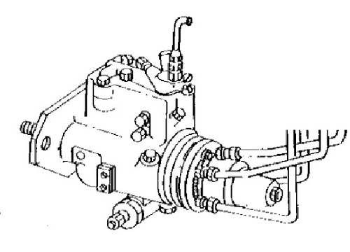 John Deere Backhoe Fuel Injection Pump