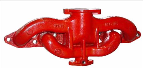 IH Farmall Intake / Exhaust Manifold (Gas) -- 369645R22, 388584R21