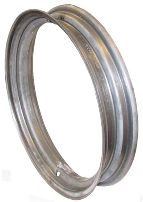 "Blank Front Rim 3"" x 19"" Must weld to your center dish -- FDS071"