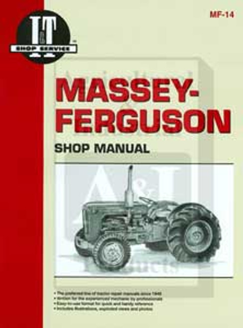 Massey Ferguson TO35, F40 Shop Repair Manual -- MF-14