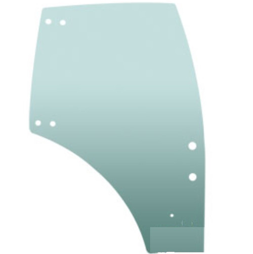 Kubota Tractor Cab Door Glass (Left Hand) -- 3C581-70774