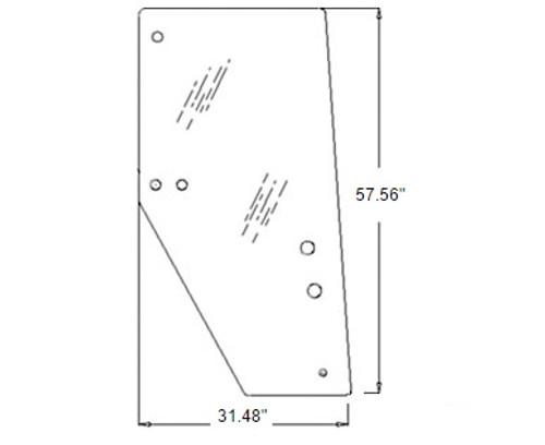 Door Glass (Right Hand) -- 3F260-53050