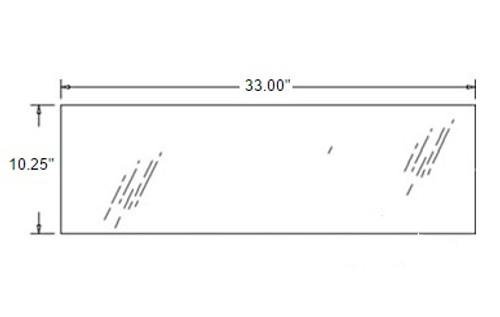 Rear Lower Glass -- 3A751-70550