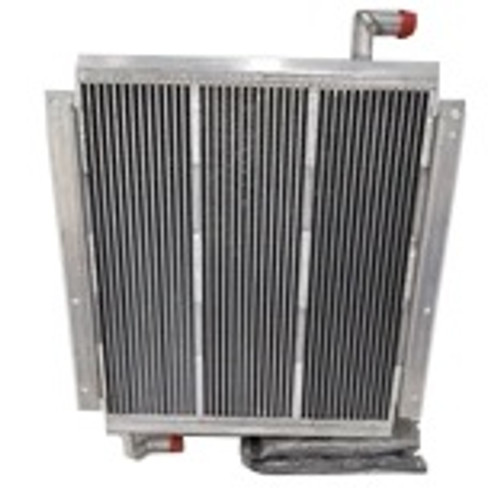 Kobelco Oil Cooler (NEW - Made in USA) SK100, SK115DZ, SK120 IV, SK130IV -- YW05PU0002S002