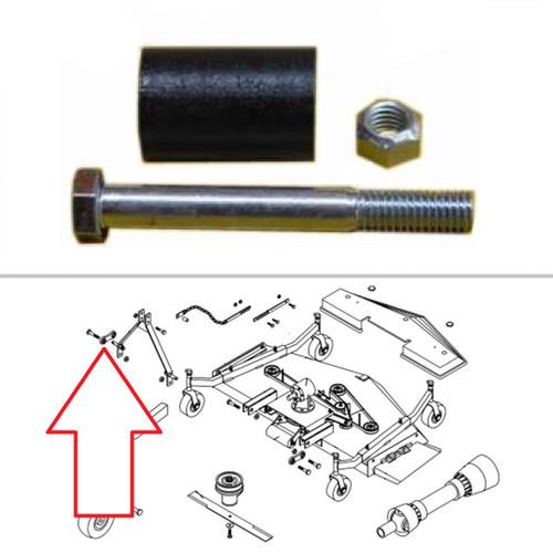 King Kutter Finish Mower Lift Arm Spacer Kit -- 502012