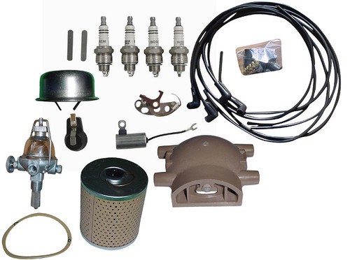 Ford 8N, 9N, 2N Tractor Tune Up and Maintenance Kit (Front Mount Distributor)--  N Ford Fuel Filter on ford 8n gaskets, ford 8n timing marks, ford 8n plug wires, ford 8n paint code, ford 8n transmission, ford 8n headlights, ford 8n firing order, ford 8n flywheel, ford 8n starter, ford 8n shop manual, ford 8n oil pump, ford 8n distributor, ford 8n exhaust, ford 8n front bumper, ford 8n tune up, ford 8n points install, ford 8n steering wheel, ford 8n ignition timing, ford 8n emblem, ford 8n gas cap,