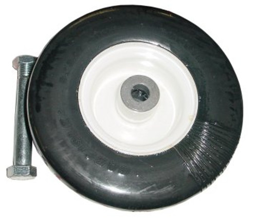 """Tire and Wheel Assembly (3.50"""" x 9"""" Solid Rubber Wheel) -- 502020"""