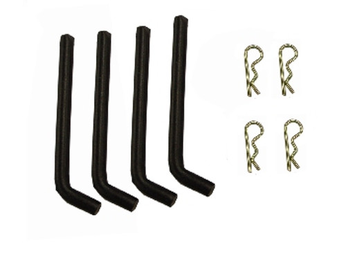 Box Blade Pin Set with Hairpins (4) -- 503501