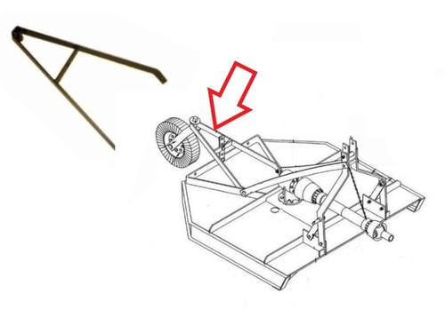 King Kutter 5' Cutter - Rear A-Frame Arm -- 401019