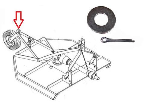 King Kutter Rotary Cutter Wheel Washer Kit -- 501013