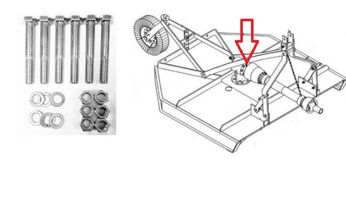 King Kutter Sheer Bolt Kit -- 500101