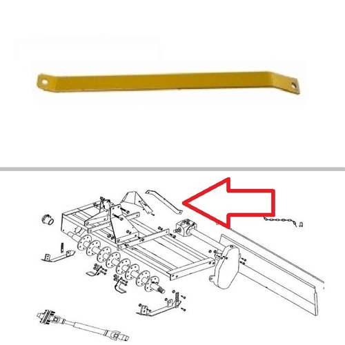 King Kutter Rotary Tiller Lift Arm Brace -- 380108