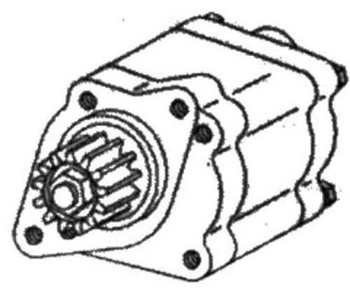 Massey Ferguson Tractor Power Steering Pump