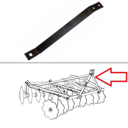 King Kutter Angle Frame Disc Harrow Lift Arm -- 322075