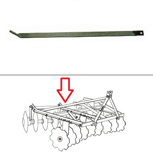 King Kutter Angle Frame Disc Harrow Right Hand Lift Arm Brace -- 322057