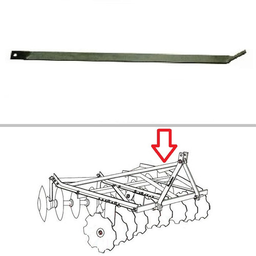 King Kutter Angle Frame Disc Harrow Left Hand Lift Arm Brace -- 322055