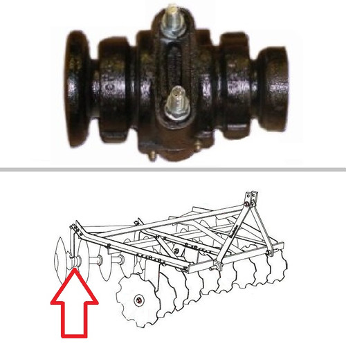 King Kutter Angle Frame Disc Harrow Bearing Assembly -- 504110