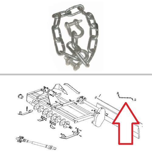 King Kutter Rotary Tiller Chain Kit -- 505143