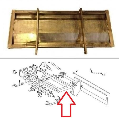 King Kutter 5' Rotary Tiller Frame Assembly -- 402043