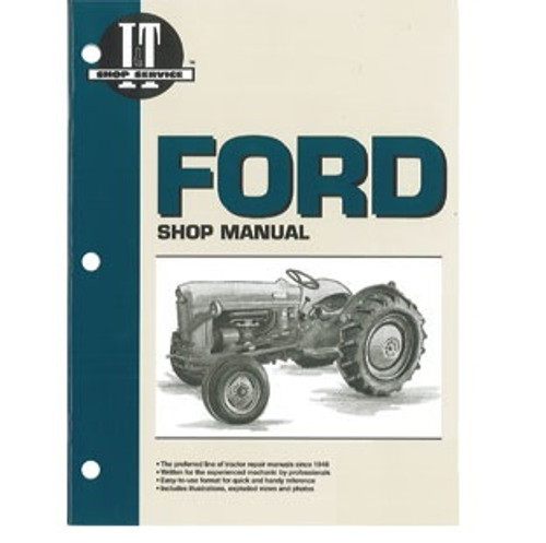 Ford 2N, 8N, 9N Shop Repair Manual -- FO4