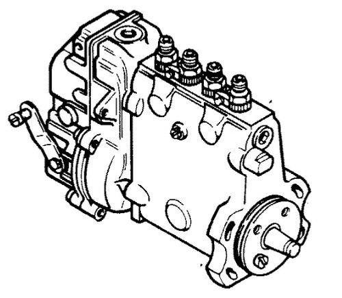 Case Backhoe Fuel Injection Pump