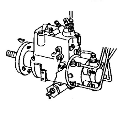John Deere Backhoe Fuel Injection Pump