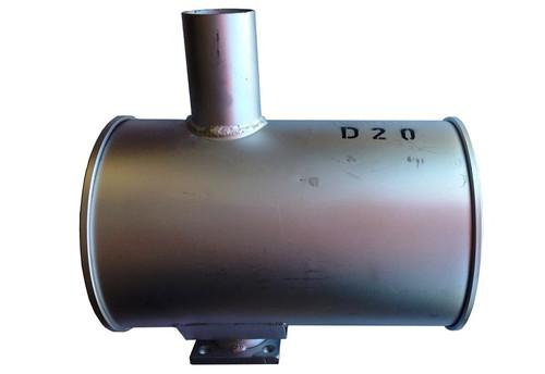Komatsu Industrial Parts - Dozer Parts - Muffler - Broken