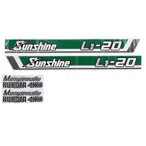 Hood Decal Set -- S.20366