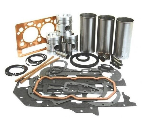 Massey Ferguson Diesel Engine Overhaul Kit (Less Crank Bearings) -- S 41884