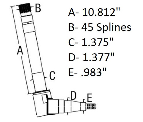 Spindle (Right) -- SBA330310790