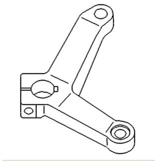 Steering Arm (Left)Two Wheel Drive -- SBA334522950