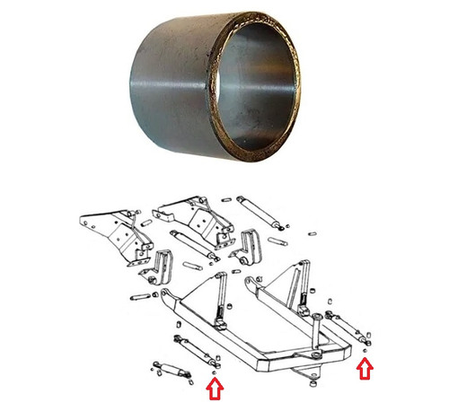 John Deere Dozer Blade Parts: 450, 450B, 450C, 450D, 450E