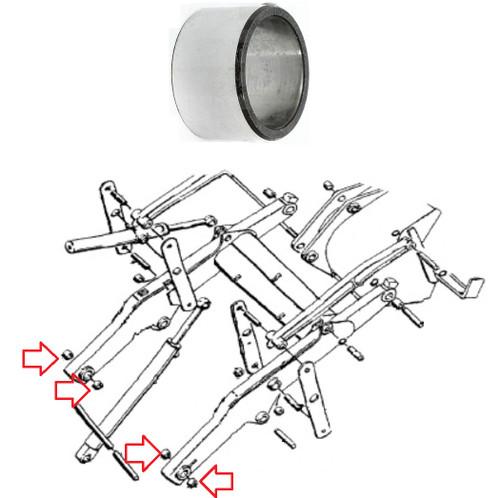 Case Bushing Rear Loader Frame D37392