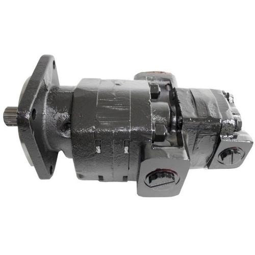 Case 580 Super L, 580 Super M Hydraulic Pump (NEW) (17-Spline Shaft) --  257954A1