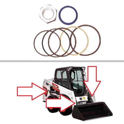 Bobcat Lift or Tilt Cylinder Seal Kit -- 6816536
