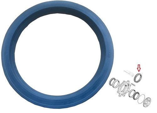 New Holland Backhoe 4WD Front Axle Hub Seal -- 47123727, 85806001