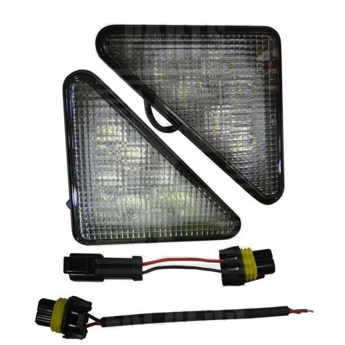 Bobcat LED Triangle Headlights -- 7259523