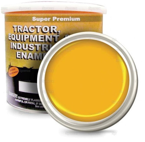 John Deere Industrial Yellow Paint, 2 Quarts -- 118772