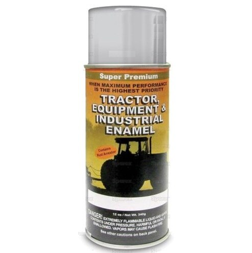 Ford Tractor Gray Gloss Spray Paint -- 118580
