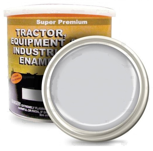 Ford Tractor Gray Gloss Paint, Gallon -- 118579
