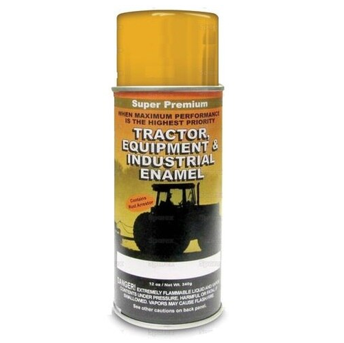 Ford Equipment Built  1967-1980 Industrial Yellow Spray Paint ('67-'80) -- 118578