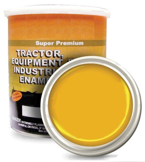 Ford Equipment Built 1967-1980 Industrial Yellow Paint ('67-'80) , Gallon -- 118576