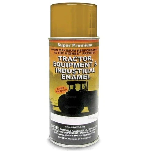 Ford Equipment Built 1981-2000 Industrial Yellow Spray Paint ('81-'00) -- 118584