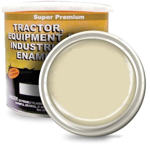 New Holland Tractors Bianco White Paint, Gallon -- 118720