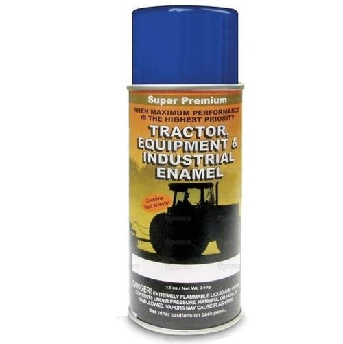 New Holland Tractors Built After 2000 Vibrant Blue Spray Paint (Case of 6)-- 118593