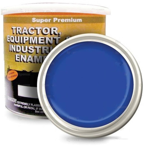 New Holland New Holland Tractors Built After 2000 Vibrant Blue Paint, Gallon -- 118591
