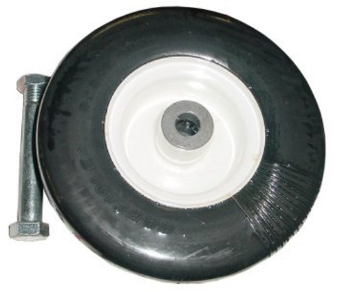 "Tire and Wheel Assembly (3.00"" x 8"" Solid Rubber)"