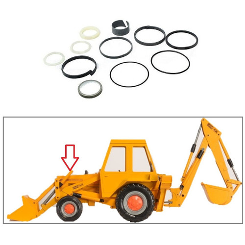 580B 680B One New Cylinder Seal Kit Fits Case 480 580F 580 480B 580C 1543263C1-A G32289 480C 680C Models Interchangeable with 1543263C1