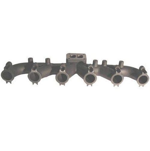 Case Exhaust Manifold 6 Cylinder Cummins Engine W36 1550,  9040B, 9045B, MX180, MX200, MX220, MX270, 7110, 7120, 7130, 7140, 7150, 7210, 7220, 7230, 7240, 7250, 8910, 8920, 8930, 8940, 8950, 9110, 9130, 9210, 9230, 9240, 9310, 9330 -- J932183