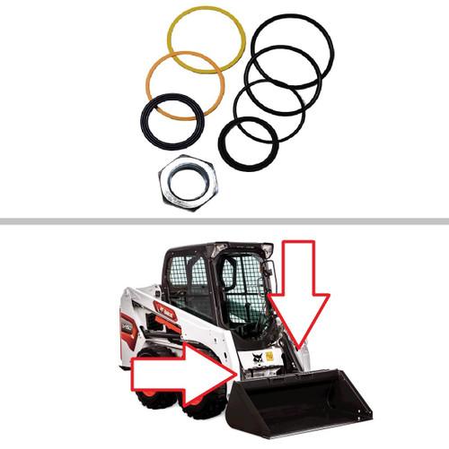 Bobcat Tilt Cylinder Seal Kit S175, S185, S205, T190, 773 -- 7135559